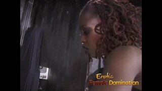 Black mistress likes predominant three defenseless milky chicks at once-6